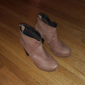 Steven by Steve Madden brown booties size 8